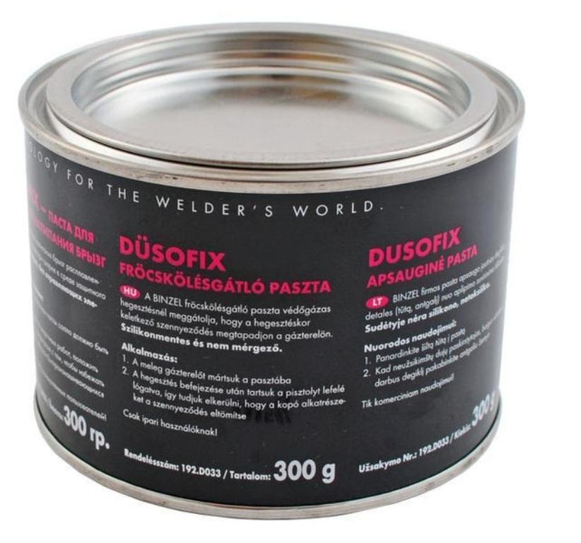 Паста против налипания брызг Dusofix  300 мл.