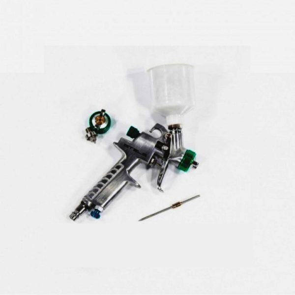 Краскораспылитель AG 810 HVLP, гравитационный, сопло 0,8 мм і 1,0 мм Stels