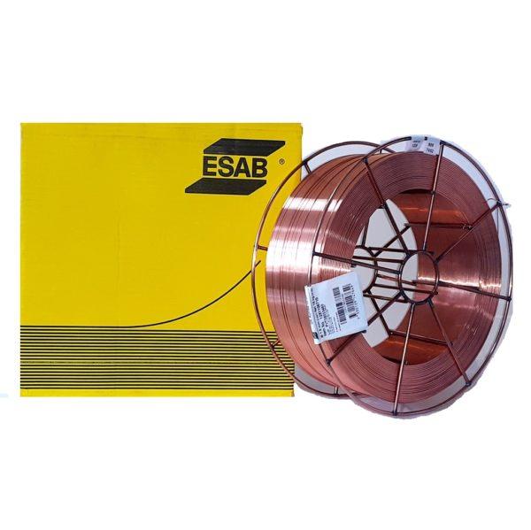 Проволока сварочная омеднённая OK AUTROD 12.51 AWS: ER70S-6 / EN ISO: G 3SI1 1.2мм