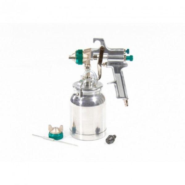 Краскопульт Stels AS 702 НP профессиональный, всасывающего типа, сопло 1,8 мм и 2,0 мм
