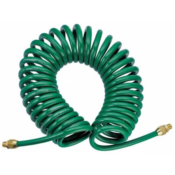 Полиуретановый спиральный шланг профессиональный BASF, 10 м