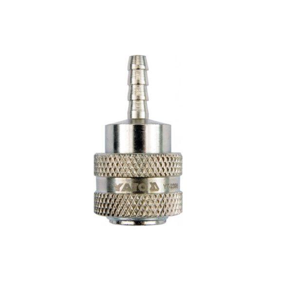 Быстроразъемное соединение для шланга 6мм YT-2396