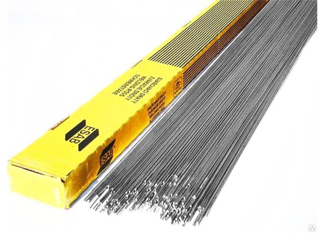 Алюминиевый присадочный пруток д. 1.6х1000 AlMg4.5 д. OK Tіgrod 5183