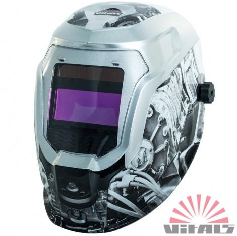 Маска зварювальника Vitals PRO Engine 2500 LCD