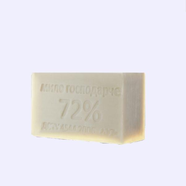Мыло хозяйственное 72% белое 200 грамм