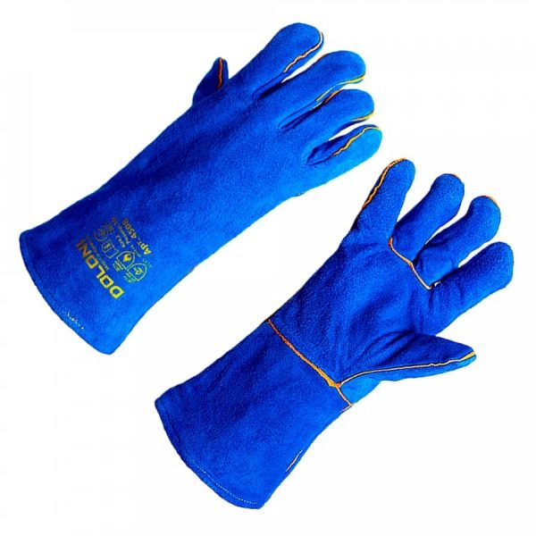 Краги синие D-FLAME