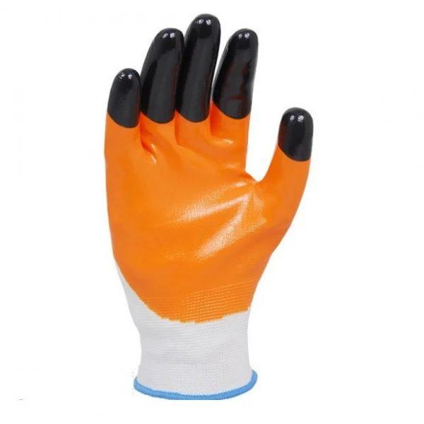 Перчатки трикотажные с нитриловым покрытием D-OIL 4564