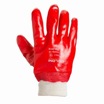 Перчатки трикотажные с ПВХ-отливом D-RESIST