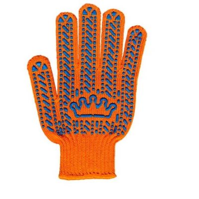 "Перчатка ""Корона"" оранжевая"