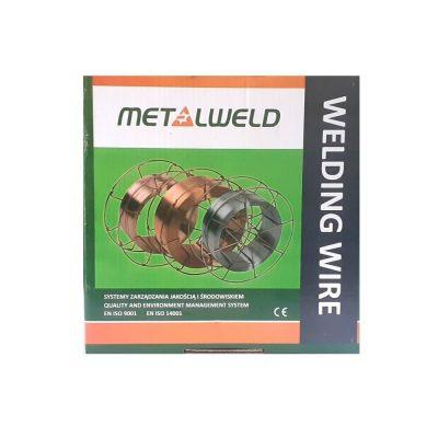 Проволока сварочная омеднённая ER 70 S-6 д 1,2 G3Si1 MIGWELD 2  (K300)